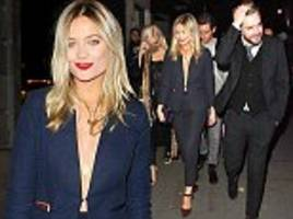 Laura Whitmore attends ITV Gala with Iain Sterling