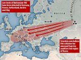 experts suspect nuclear accident in russia or kazakhstan