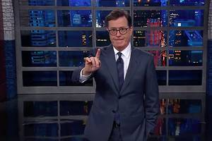 Stephen Colbert Explains Louis CK No-Showed Due to 'Disturbing Allegations' (Video)