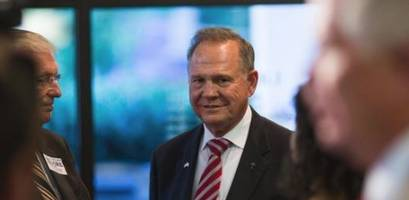 Republican Senatorial Committee Cuts Off Roy Moore's Funding