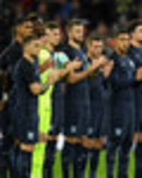 disgraceful england fans booed germany national anthem