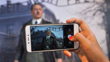 Take a selfie with Hitler outside Auschwitz in a wax museum in Indonesia — or don't because that's disgusting