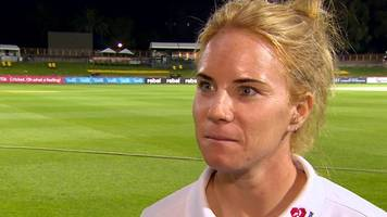 Lauren Winfield: England in a 'really good position' after day two