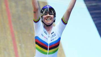 track cycling world cup: britain's katie archibald wins silver in the omnium in manchester