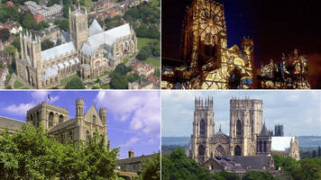 Four cathedrals battle in Twitter world cup final