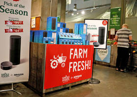 Amazon is opening pop-up stores in Whole Foods for the holidays