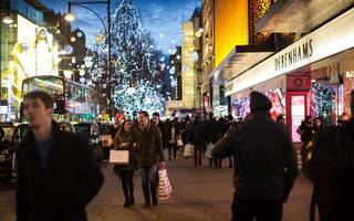 high street hit with sales fall before key yuletide season