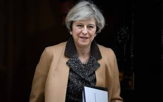 it turns out public support for theresa may is actually rising