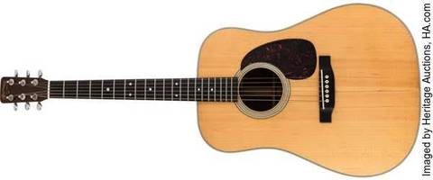 bob dylan's iconic martin guitar up for auction
