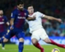 lenglet in no rush to ditch sevilla for barcelona