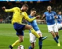 'They lay down in every situation' - Sweden striker Berg says Italy tried to get him sent off