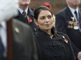 priti patel thanks public for their support after job loss