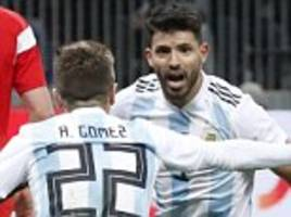 russia 0-1 argentina: aguero late strike snatches win