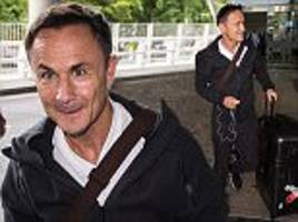 Dennis Wise lands in Australia ahead of I'm A Celebrity