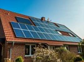 Energy bills set to rise for houses with solar panels