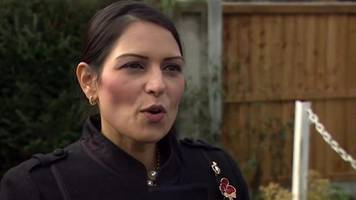 priti patel 'inundated' with support since israel revelations