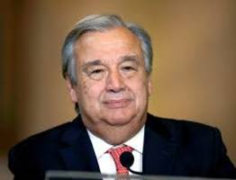 Antonio Guterres expresses concern over prospects for implementation of Paris Agreement