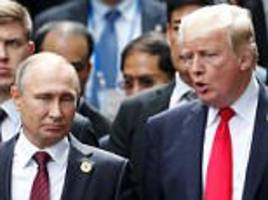 trump and putin met in vietnam and issue statement on isis