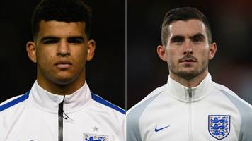 Solanke and Cook join Gunn in England squad