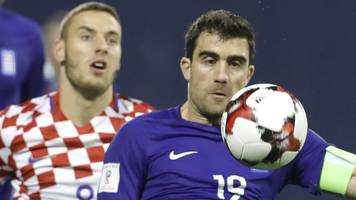 croatia '95% qualified', says greece defender before second leg