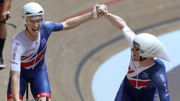 Track Cycling World Cup: GB men claim team pursuit gold