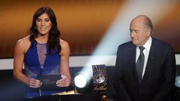 hope solo says former fifa head sexually assaulted her at awards show
