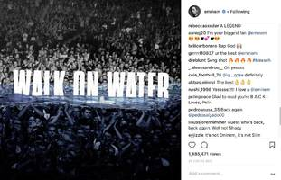 "Eminem Fans Get At Him For Beyoncé ""Walk On Water"" Premiere: ""I Miss The Slim Shady, Not This S**t"""