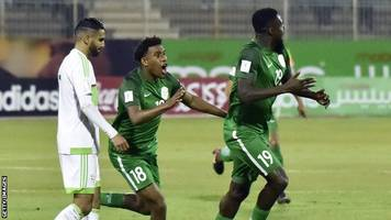 nigeria end qualifying campaign with 1-1 draw in algeria