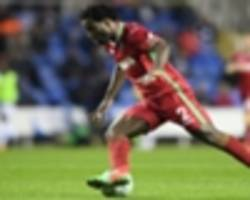 swansea's bony available for burnley clash