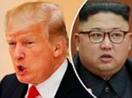 trump slams kim for 'insulting me by calling me old
