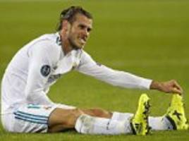 Gareth Bale's long list of injuries at Real Madrid