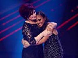 x factor: sharon osbourne breaks down over george michael