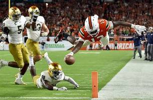 No. 7 Miami's rout of No. 3 Notre Dame all but guarantees ACC returning to playoff