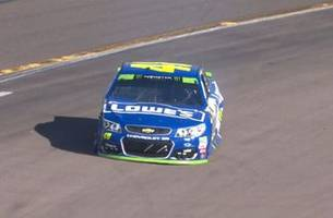 The Chase for 8 ends after Jimmie Johnson suffers flat tire   2017 PHOENIX