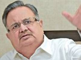 dr raman singh sends a message to the maoists