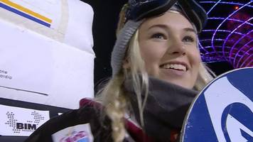 Big Air World Cup: Great Britain's Katie Ormerod wins silver in Milan