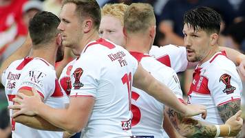 Rugby League World Cup: England 36-6 France highlights