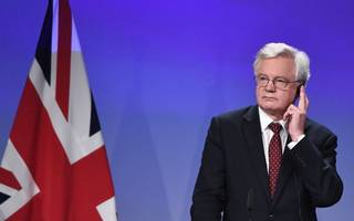 brexit minister dismisses barnier's two-week  divorce bill deadline