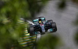 hamilton evokes karting days with battling fourth in brazil