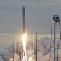 orbital atk successfully launches eighth cargo delivery mission to the international space station