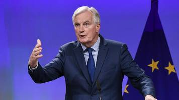eu preparing for possible collapse of brexit talks - barnier