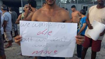 manus island refugees share fears before expected exit