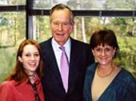 woman claims president george h.w. bush groped her in 2003