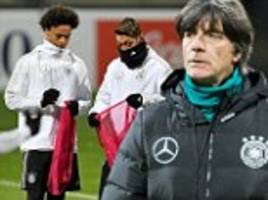 mesut ozil trains ahead of germany's clash with france