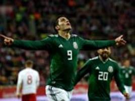 poland 0-1 mexico: jimenez's strike secures friendly win