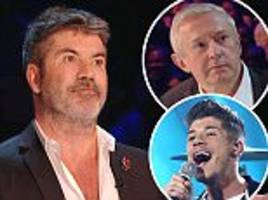 simon cowell's x factor comments leave louis walsh furious