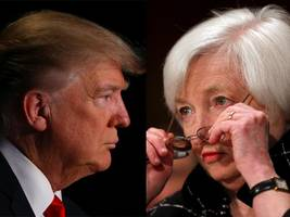 it looks like janet yellen issued a point by point rebuke of donald trump —without ever mentioning his name
