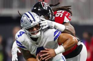 Troy Aikman was impressed by Adrian Clayborn and the 'desperate' Falcons against the Cowboys