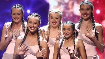 britain's got talent girl dancing again after op
