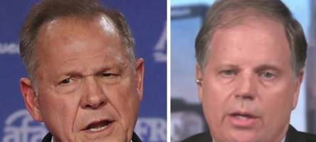 Roy Moore's Democratic Opponent Takes The Lead In Alabama Senate Race